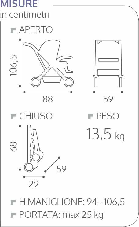 EGG Passeggino Stroller