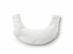 Teething-Bib-for-Baby-Carrier-One---White