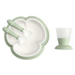 Baby-Feeding-Set---Powder-Green